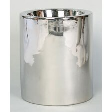High Rise Pet Dish in Nickel