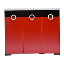 C11 Shoe Cabinet in Red
