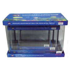 Curved Glass Aquarium (Set of 3)