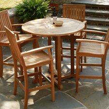 "<strong>Three Birds Casual</strong> Oxford 42"" Round Bar Table"