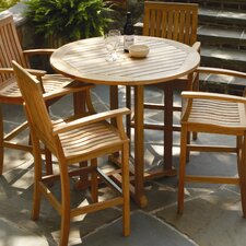 "<strong>Three Birds Casual</strong> Oxford 36"" Round Bar Table"