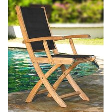 <strong>Three Birds Casual</strong> Teak Riviera Director Chair