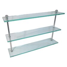 Universal Triple Glass Shelf