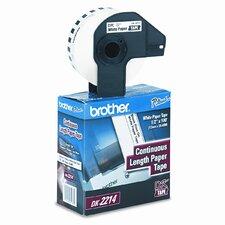 DK2214 Continuous Paper Label Tape