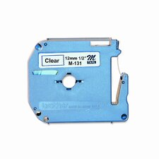 M131 P-Touch Tape Cartridge for P-Touch Labelers, 1/2W