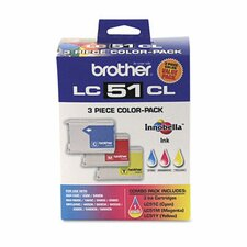 Lc513Pks Ink, 400 Page-Yield, 3/Pack