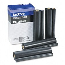 Pc204Rf Thermal Transfer Refill Roll, 4/Pack
