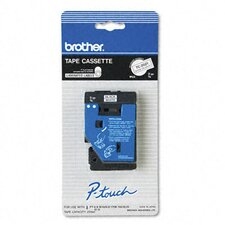 <strong>Brother</strong> P-Touch Tc Tape Cartridges for P-Touch Labelers, 3/8W