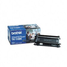 Tn115Bk High-Yield Toner, 5000 Page-Yield