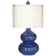 "PCL Mercata 30"" H Table Lamp with Drum Shade"