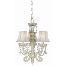 Essentials 3 Light Chateau Mini Chandelier