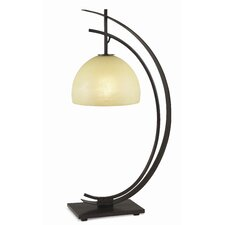 "Architectural Kathy Ireland Home Orbit 28"" H Table Lamp with Bowl Shade"