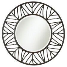 Willow Creek Mirror in Rust Black