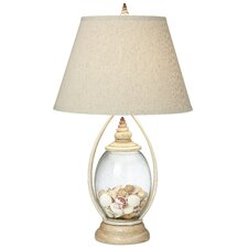 Seascape Reflections 29'' H Table Lamp with Empire Shade