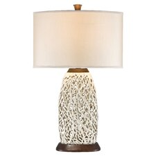 "PCL Seaspray 30.44"" H Table Lamp with Drum Shade"