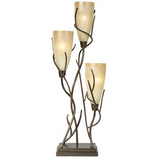"El Dorado Three Light Uplight 30"" H Table Lamp"