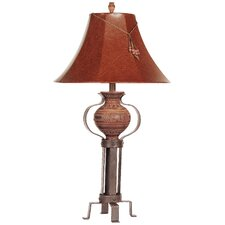 "PCL La Jarra 27"" H Table Lamp with Bell Shade"