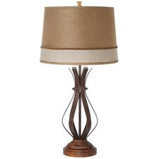 <strong>Pacific Coast Lighting</strong> Howard Pinstripe 1 Light Table Lamp