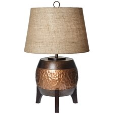"PCL Maru Barrel 29.4"" H Table Lamp with Empire Shade"