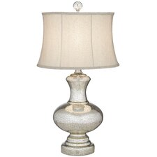 "PCL Moonshadow 32"" H Table Lamp with Bell Shade"