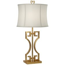 "Kathy Ireland Gallery Macau Nights 31"" H Table Lamp with Bell Shade"