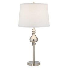 "Teepa 27.25"" H Table Lamp with Empire Shade (Set of 2)"