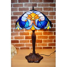 "Baroque Style Tiffany 16"" Table Lamp"