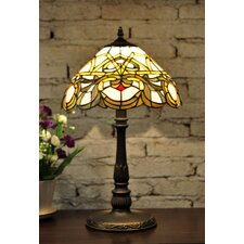 "Baroque Style Tiffany 12"" Bedside Lamp"