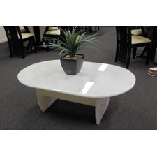 Yvan Pure Marble Coffee Table in Rainbow Light