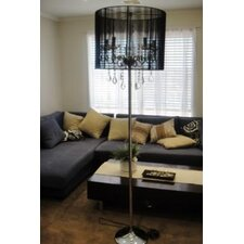 Modern 180cm Floor Lamp with String Shade