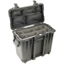 Case with Utility Padded Divider and Lid Organizer