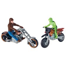 Hot Wheels Motorcycle with Rider
