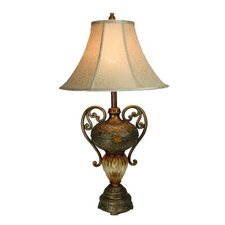 Table Lamp with Jewellery Pot Style Base
