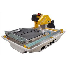"0.5 HP 115 V 6"" Blade Capacity Wet Tile Saw with Prebundled Folding Stand"
