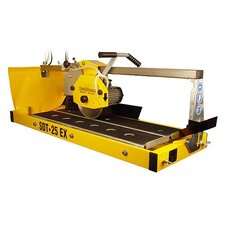 "1.5 HP 115 V 10"" Blade Capacity Stone Saw with 36"" Rip Cutting"