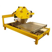 "2.5 HP 115 V 14"" Blade Capacity Stone Saw with Slide-In Legs"
