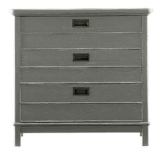 Coastal Living Resort 3 Drawer Nightstand