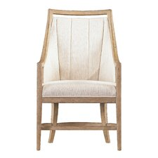 Resort By the Bay Fabric Arm Chair