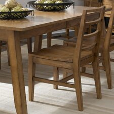 Ember Grove Slat Back Side Chair