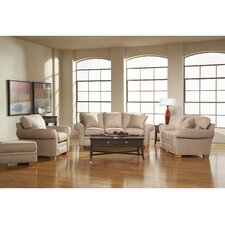 <strong>Broyhill®</strong> Zachary Queen Sleeper and Loveseat Set (Set of 4)