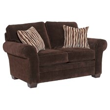 Zachary Velvet Loveseat