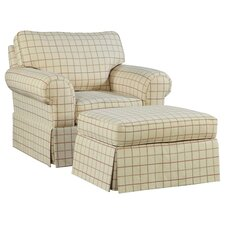 <strong>Broyhill®</strong> Julie Chair and Ottoman