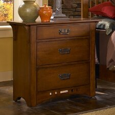 Artisan Ridge 3 Drawer Nightstand