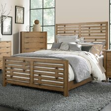 Ember Grove Panel Bed