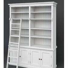 Halifax Hutch Bookcase and Ladder