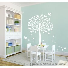 Tree and Birds DIY Removable Wall Sticker