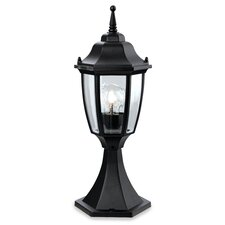 Faro 1 Light Outdoor Pedestal Lantern