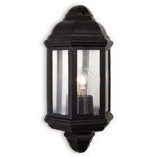 Outdoor Park 1 Light Flush Wall Light