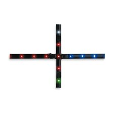 Cross 36 Light Strip Ceiling Light