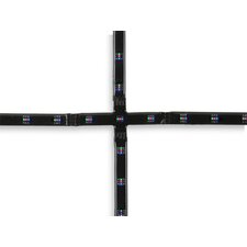 Cross 9 Light Strip Ceiling Light